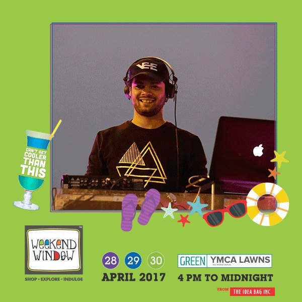Not only shopping! There's lot more in the bag. Weekend Window brings you to the unlimited madness and fun filled activities. One of the most successful dJ, Comedy shows, Singing and much more. So dont miss out Weekend Window At YMCA lawns, 28-29-30th April, 2017  #WW #comedy #music #DJ #thecomedyfactory #indiagottalentfame  #wwXI #summervibe #kidsactivity #surpriseloaded #explore #indulge #ahmedabad #shopping #carnival #chillingtime #biggerandbetter #seeyouthere  https://media.giphy.com/media/xUA7b1F8k5vLsBBknS/giphy.gif