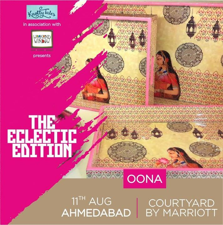 Explore OONA Concept Studio 's wide range of designer corporate boxes for festivals occassions and many more only at #WeekendWindow #Knottytales #theeclecticedition on 11th august at the Courtyard by Marriott, Ahmedabad  #WeekendWindow #knottytales #theeclecticedit #fashion #collection #elegant #apparel #bohemian #ahmedabad #eclectic #shoppinspree #ahmedabad #ahmedabadbloggers #ahmedabad #thingstodo #fashionbloggers #bloggers #fashion #style #shoptillyoudrop #festivewear #rakhishopping #diwalishopping #whowearwhen