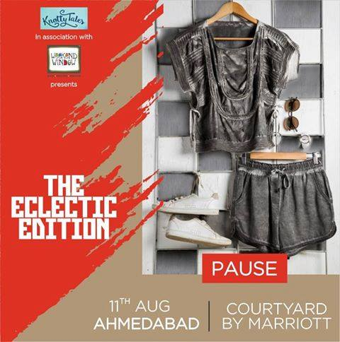 What if fashion could be everything you love - glamorous, trendy, flattering- but also ridiculously comfortable and sustainable as well? You're not dreaming. Neha Tham and Neha Modi have pressed play on your dreams with Pause effortless chic aesthetic.  ---------------------------------------------------------- Pause everything else and rush to #WeekendWindow #TheEclecticEdit in association with #KnottyTales The Courtyard by Marriott, Ahmedabad on the 11th of August ---------------------------------------------------------- #pause #brand #designers #nehamodi #nehatham #stylist #influencers #celebrities #sustainable #ecofriendly #casual #glamorous #aesthetic #courtyardbymarriot #ahmedabad #EclecticEdit — at Courtyard Ahmedabad.