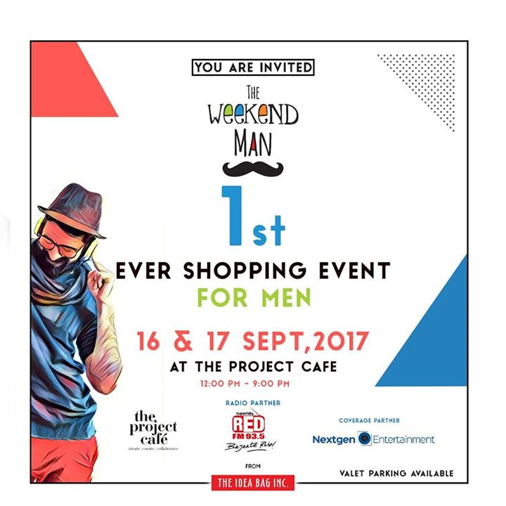 From the house of Weekend Window, The Weekend Man by The Idea Bag Inc in collaboration with The Project Cafe is THE place to be at for an amazing shopping experience for all Amdavadi men!  Crisp Formals Smart Casuals Accessories for a style statement India Festive wear Quirky Pajamas & comfort wear Grooming products Shoes, Leather Bags, Wallets . . . Everything you can think of for man!  We heartily invite you   Date : 16th-17th September, 2017 Timings : 12 Noon to 9 PM Venue : The Project Cafe  #mensshopping #theweekendman #twm #weekendwindow #theprojectcafe #tpc #curated #popup #giftsforhim #smartmen #menschoice #suave #grooming #beardcare #shirts #casuals #personalgrooming #hisshopping #stationary #office #workingmen