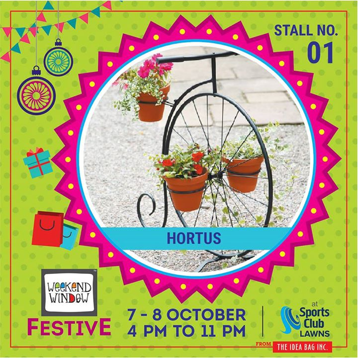 Set your garden apart by creating a unique outdoor space with garden accessories and garden accents . Hortus My Garden have garden accents and lawn ornaments with bright and vivid designs to help you personalize your garden. Garden accessories come in all shapes and sizes, find the prefect garden accents for your garden. #diwalipreparations #weekendwindow #theideabaginc #curatedevent #diwalishopping #weekendwindowfestive  #prediwali #shopping #diwaligifting #gardendecor #sportsclubofgujarat #diwalivibes #festivevibes #festivities #whatwomenwant #shoptillyoudrop #kidsactivities #workshops #art  #craft #Foodaholics #Fun #Entertainment #music #enjoyement #love #foodporn #foodbitting #Fleamarket #learning #flowers