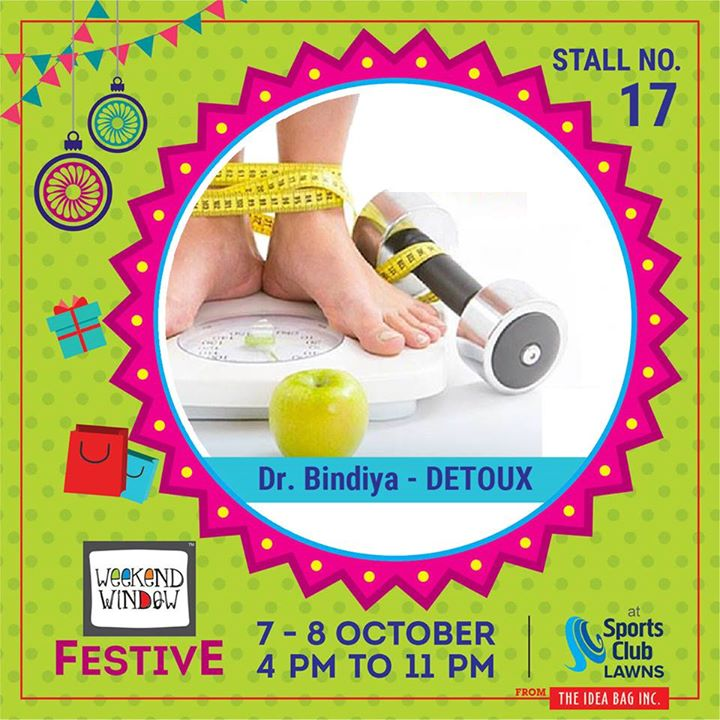 The only successful way to reach and maintain a healthy weight is to find what works for you. Free consultation session with Dr Bindiya Holistic Health  #weekendwindow #theideabaginc #curatedevent #diwalishopping #weekendwindowfestive #prediwali #shopping #diwaligifting #sportsclubofgujarat #diwalivibes #festivevibes #festivities #shoptillyoudrop #kidsactivities #workshops #art #craft #Foodaholics #Fun #Entertainment #music #enjoyement #love #foodporn #foodbitting #Fleamarket