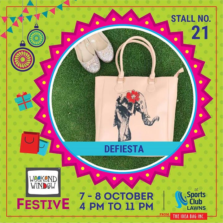 Defiesta is all about bags.For a woman a bag is a