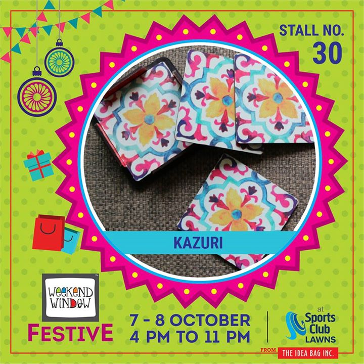 Kazuri is the hub for kids items specialized kids furniture,wooden home decor products, customized gifting solutions and more. Wooden Mats, Trays, Coasters and other customized gifting solutions. #weekendwindow #theideabaginc #curatedevent #diwalishopping #weekendwindowfestive #prediwali #shopping #diwaligifting #sportsclubofgujarat #diwalivibes #festivevibes #festivities #shoptillyoudrop #whatwomanwants #kidsactivities #workshops #art #craft #Foodaholics #Fun #Entertainment #music #enjoyement #love #foodporn #foodbitting #Fleamarket