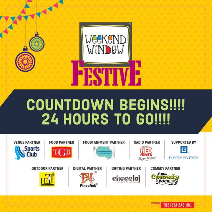 Weekend Window,  weekendwindow, theideabaginc, prediwali, diwalivibes, shopping, fun, foodaholic, entertainment, shoptillyoudie, music, stageperformance, dance, diwalicollection, fleastival, sportsclub, festive, diwali, shoptillyoudrop