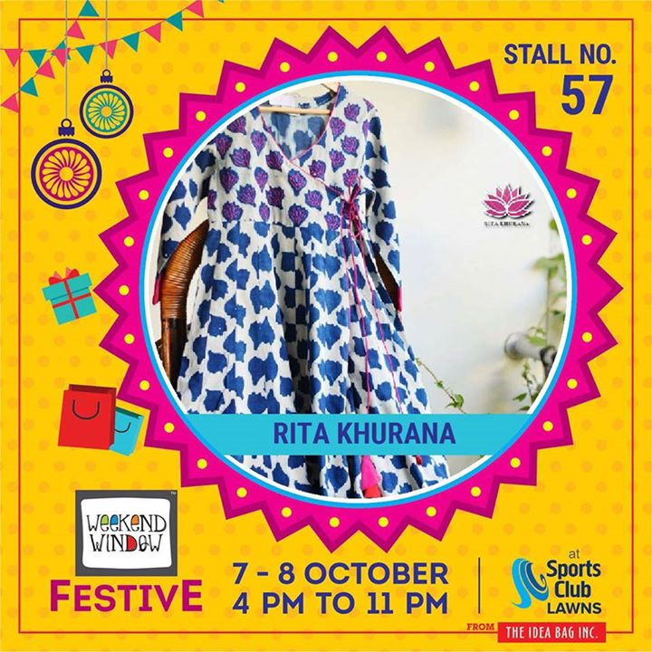 Free flowing fabric with variety of prints.Stuff your wardrobe with an amazing collection of dresses that are very comfortable & mesmerizing to one's eyes.  #weekendwindow #theideabaginc #curatedevent #diwalishopping #weekendwindowfestive #prediwali #shopping #diwaligifting #sportsclubofgujarat #diwalivibes #festivevibes #festivities #shoptillyoudrop #whatwomanwants #kidsactivities #workshops #art #craft #Foodaholics #Fun #Entertainment #music #enjoyement #love #foodporn #foodbitting #Fleamarket