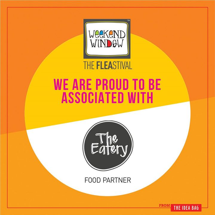 We are associated with our food partner The Eatery .They in Beardo Weekend Window XII Edition - Ahmedabad for all the amdavadi. So do not miss this chance. join us at this weekend!!!  More than 180 +shopping brands, 25 Food Brands, Kids Activities, Workshops, Entertainment, Bands, DJ & Stand Up Comedy, and a lot more...!  Date: 22-23-24 December, 2017 Time: 4 pm to Mid night Venue: Karnavati Club Lawn, Ahmedabad #weekendwindow #theFLEAstival #theunbeatable #shop #explore #indulge #fleamarket #workshops #love #BeardoWeekendWindow