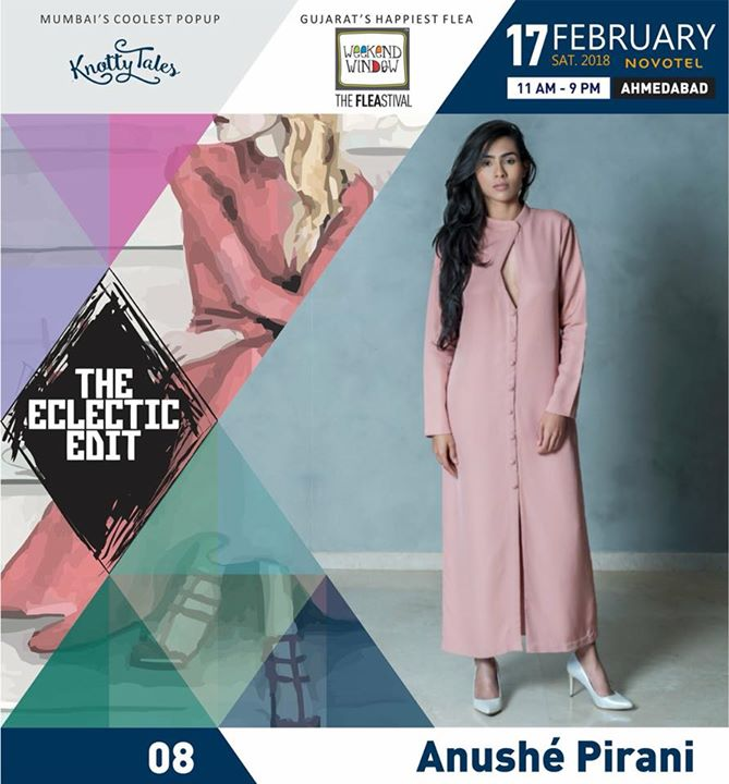 The Eclectic Edit - Season 2, is about to take place this weekend. We are super excited to have some amazing brands on board at this beautiful  luxury pop-up with 50 independent designers!   Come one, come all!!!  Date: 17.02.18 Venue: Novotel, Ahmedabad  Time: 11am to 9pm  #theeclecticedit #TEE2 #luxury #popup #knottytales #weekendwindow #shoptillyoudrop #styleicon #fashion #whatsmartwomenwear