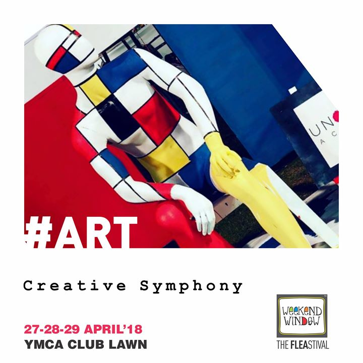 Get Zapped with the creativity & art in surroundings & feel the symphony of innovation around !  Drop by to see these stunning art installations on April 27/28/29 April at YMCA Lawn from 4 pm onwards
