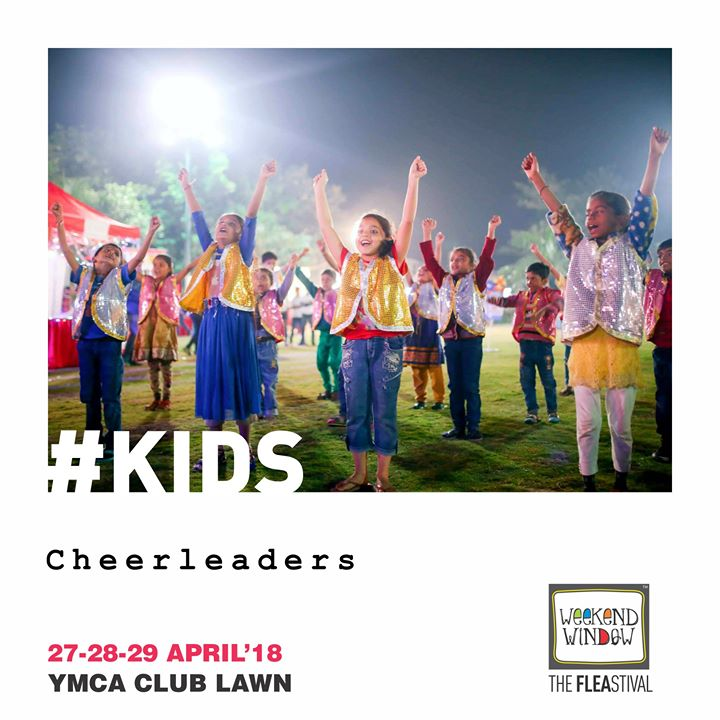 We love Kids and they love Weekend Window! Loads of kids rides, activities, workshops are planned for they tiny tots at Weekend Window-The Happiest Flea-stival; so do bring your kids along and make the best of their summer time!  27-29th April'18, YMCA Club Lawns, 4 pm onwards  #weekendwindow #kids #kidsactivities #summerholidays #happytimes