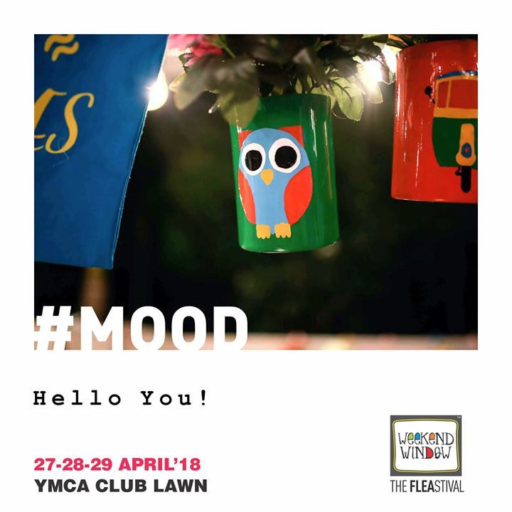 Hello You!  Less than a month to go for Gujarat's Happiest Fleastival, Weekend Window! So do come to experience the Quirky Ambiance & Only Good Vibes this summer!   27-29th April'18, YMCA Lawns, 4 pm onwards  #weekendwindow #mood #summeredition #fleamarket #spreadhappiness