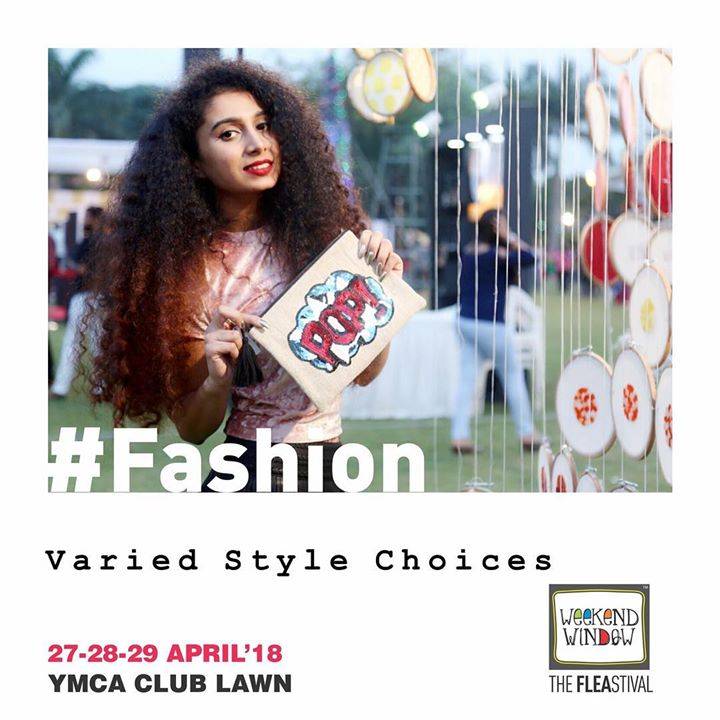 It's all about fashion this summer. Watch out for the amazing brands curated specially for your to bring a splash of breezy vibes & happy smiles!  27-28-29 April, 2018 at YMCA International Centre - Ahmedabad.  #ww13 #weekendwindow #thefleastival #happiness #shop #explore #indulge #fashion #style #flaunt #shoptillyoudrop #fleamarket #kidsactivities #food #foodlovers