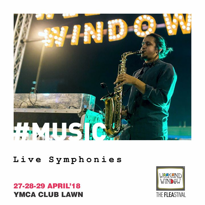 Experience Live Music Performances that directly touch your heart at the happiest place to be this summer, Weekend Window!  27-28-29 April, 2018 at YMCA International Centre - Ahmedabad.  #ww13 #weekendwindow #thefleastival #happiness #play #explore #indulge #music #liveperformances #shoptillyoudrop #fleamarket