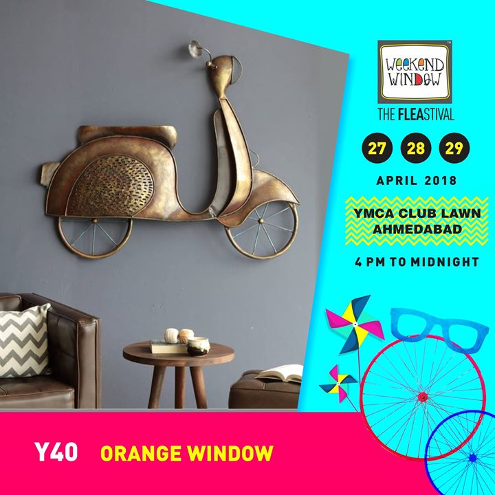 Now with Orange Window, you have power to decorate your home with elegant home decor accessories and  furniture as per your desire!  27-28-29 April, YMCA Club Lawn, 4pm onwards  #weekendwindow #ww13 #summer #homedecor #furniture #summerhues#happyshopping #fleamarket