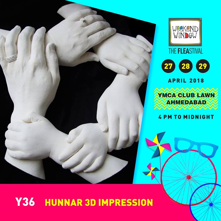 Now preserve your special moments for a lifetime with 3d Impressions of hands, face, pregnancy baby bump,etc by Hunnar 3d Impression - 3D hands and feet casting studio  By ElleGandhidham!   At Weekend Window 27-28-29 April, YMCA Club Lawn, 4pm onwards  #weekendwindow #ww13 #summer #3dart #impressions #memoriesforlife #fleamarket #happyshopping