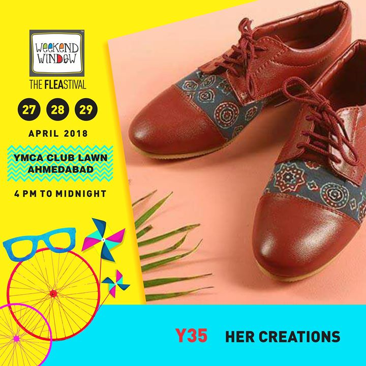Shop comfy, hand crafted footwear this summer from Her creations by Payal patel only from Weekend Window Summer Edition!  27-28-29 April, YMCA Club Lawn, 4pm onwards  #weekendwindow #ww13 #summer #footwear #stepincomfort #summeresssentials #weekendwindow #fleamarket #happyshopping