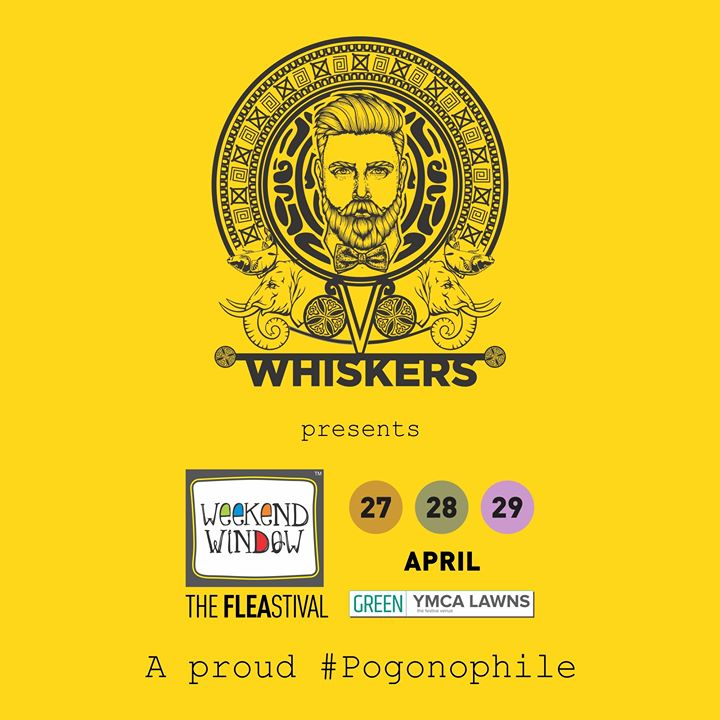 Here's introducing our Presenting Sponspor : Whiskers! A brand developed for MEN'S GROOMING & TATTOO AFTERCARE that produces exceptional products for daily personal care.   So everyone head to the Whiskers' Zone at Weekend Window to indulge in shopping of natural, organic & cruelty free products for those who choose to live a holistic lifestyle!  27-28-29 April, 2018 YMCA International Centre - Ahmedabad, 4pm onwards  #weekendwindow #theFLEAstival #summermusthaves #grooming #skincare #mensbrands #holisticlifestyle #shoptillyoudrop #Whiskers