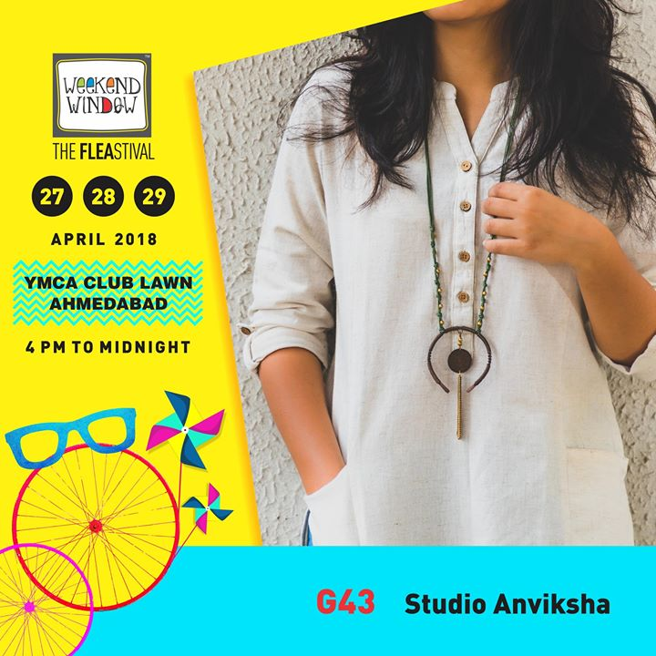 ANVIKSHA is all about handcrafted jewelry for the free-spirited, artists and dreamers!  27-28-29 April, 2018 YMCA International Centre - Ahmedabad, 4pm onwards  #weekendwindow #theFLEAstival #jewellery #summermusthaves #artistic #handcrafted #fashionessentials #shoptillyoudrop