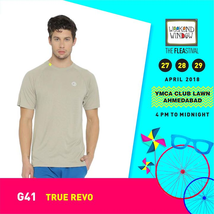 Your search for premium sports wear ends now with TrueREVO! They create extreme performance & highly fashionable fitness apparel, sportswear & sports accessories for men & women.   Weekend Window, 27-28-29 April, 2018 YMCA International Centre - Ahmedabad, 4pm onwards  #weekendwindow #theFLEAstival #sportwear #fitnesswear #befit #summermusthaves #fashionessentials #shoptillyoudrop
