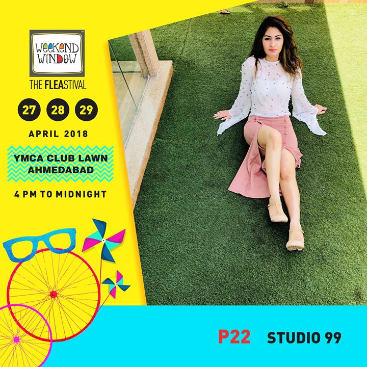 STUDIO 99 is a Complete solution of Western wear with a classy and sassy collection of fancy tops, culottes, co-ordinators, short dress, maxi dress, skirts, shorts, pants and much more.  Date:27-28-29 April Venue: YMCA International Centre - Ahmedabad Time: 4pm to midnight  #weekendwindow #theFLEAstival #fashionesentials #westernwear #designerwear #flauntyourstyle  #musthaves #ww13 #fleamarket #shopping #kids #music #food