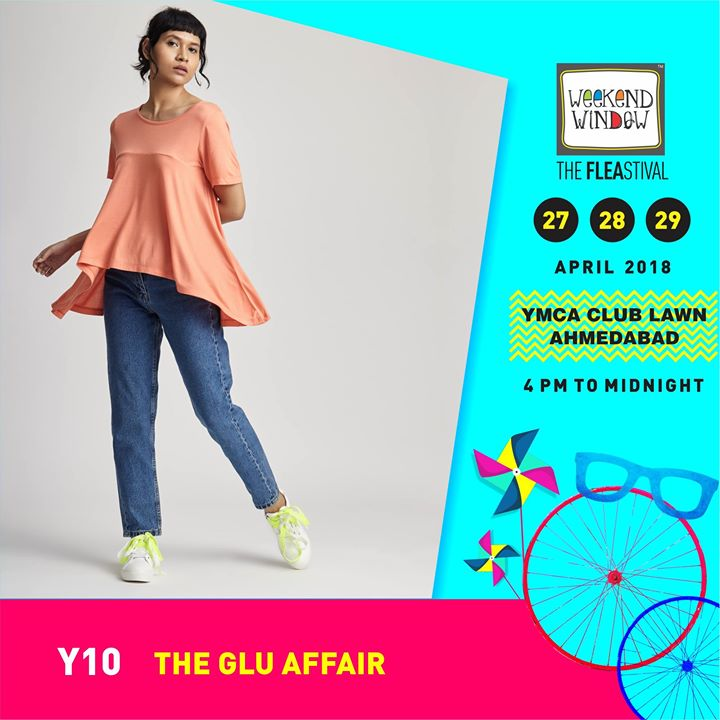 The Glu Affair is keeping it super cool in this heat with their softest, coolest, quirkiest summer collection this time!  Date:27-28-29 April Venue: YMCA International Centre - Ahmedabad Time: 4pm to midnight  #weekendwindow #theFLEAstival #summercollection #fashion #fashionmusthaves #fleamarket #shopping #food #entertainment