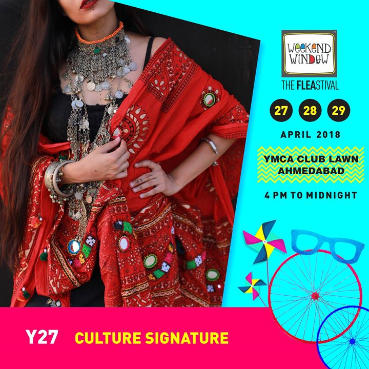 Culture Signature is a treasure of Unique handicrafts & designer jewellery! Weekend Window Date:27-28-29 April Venue: YMCA Club Lawns Time: 4pm to midnight  #weekendwindow #fleastival #jewellery #accesories #stylestatment #shopping #food #music #entertainment