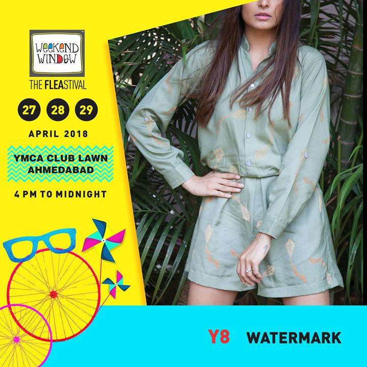 Watermark Clothing is coming to Ahmedabad bringing with them their new collection with a fresh, summery vibe and  exciting offers!  Date: 27-28-29th April'18 Time: 4 pm to Mid night Venue: YMCA Club Lawns  #weekendwindow #theFLEAstival #theunbeatable #summercollection #musthaves #designerwear #shopping #food #music #entertainment