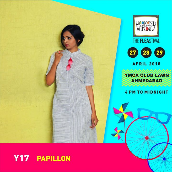 Papillon clutches apparels . An electric mix of stylish and classic Sling Bags, Clutches & fashionable attires!   Date: 27-28-29th April'18 Time: 4 pm to Mid night Venue: YMCA Club Lawns  #weekendwindow #theFLEAstival #summerfashion #apparels #slings #clutches #musthaves #shoptillyoudrop #weekendhappiness