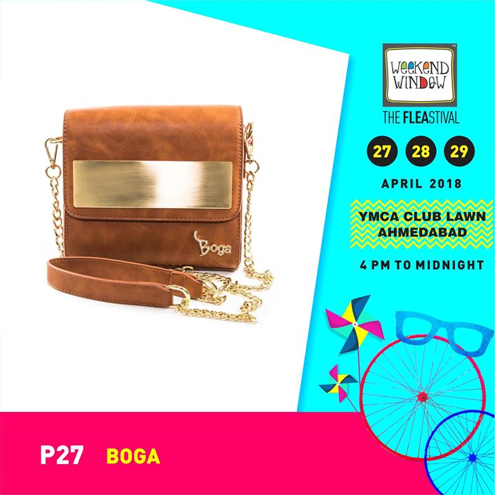 BOGA - be in style  is for the fun, stylish and audacious! Shine and Sass through the summer with their collection!  Date: 27-28-29th April'18 Time: 4 pm to Mid night Venue: YMCA Club Lawns  #weekendwindow #theFLEAstival #shopping #bags #weekendshopping #summercollection #musthaves #fashion #food #music #entertainment