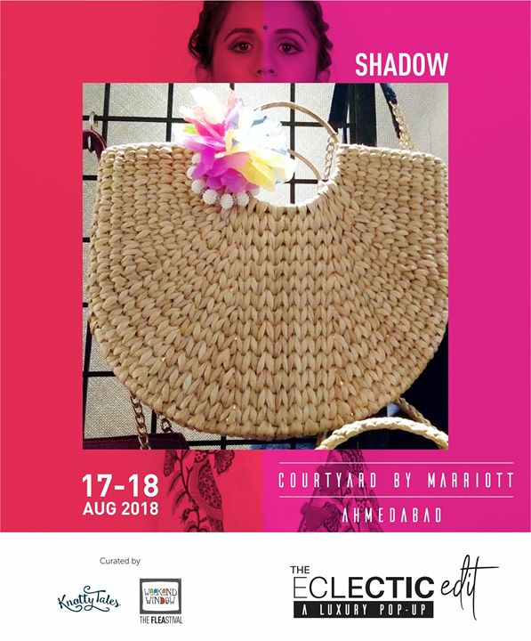 Shadow - Handcrafted bags and clutches for the perfect accessory for all your outfits! We bring them to you for all the arm candy you need to flaunt an impression.  65+ designers showcasing for all your festive collection needs.  #theeclecticedit #knottytales #weekendwindow #luxuryshopping #popup #festive #shoptillyoudrop #designers #bags #clutches #accessory #handcrafted