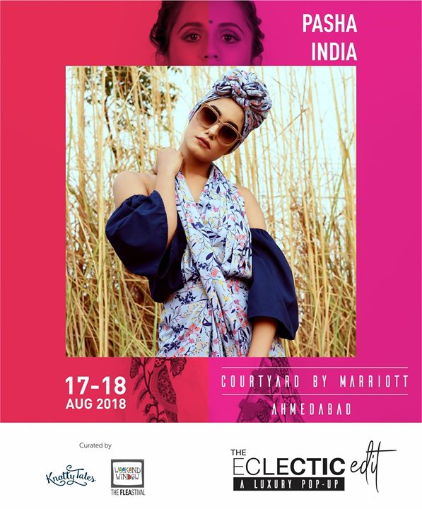 PASHA INDIA brings to Ahmedabad some really quirky motifs, playful prints and trendy silhouettes. For all your western outfit requirements, this is one very promising designer to check out!  65+ designers showcasing for all your festive collection needs. Only 16 days to go!!!  #theeclecticedit #knottytales #weekendwindow #luxuryshopping #popup #festive #shoptillyoudrop #designers #pashaindia #westernwear #stylish