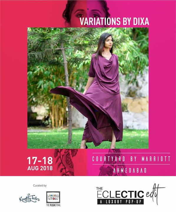Variations by DIXA inspires the fashion conscious generation with their distinct designs of contemporary style. Dixa Shah is a celebrity designer & stylist. She has judged profuse contests,Fashion Pageants,Exhibitions on State & National level.Recently she has launched her pristine brand