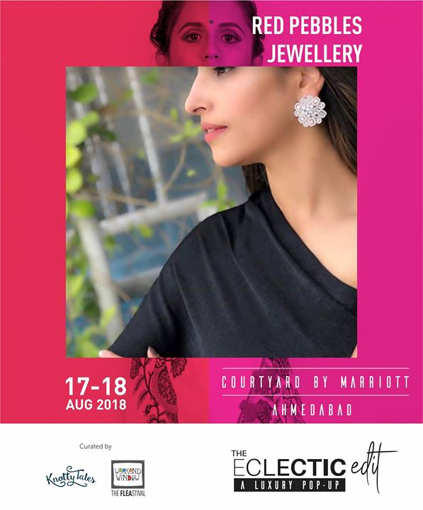 Get festive ready with touch of pastel colors in jewellery only by @redpebbles.kimmyjatwani jewellery  Showcasing 65+ designers this 17th-18th August at The Eclectic Edit - Season 3 curated by Knotty Tales & Weekend Window at Courtyard by Marriott Ahmedabad.   #fashion #earings #peacockearrings #instajewelry #jewellerygram #weddingjewelry #indianwedding #like4like #instafashion #indianfashion #redpebblesjewellery