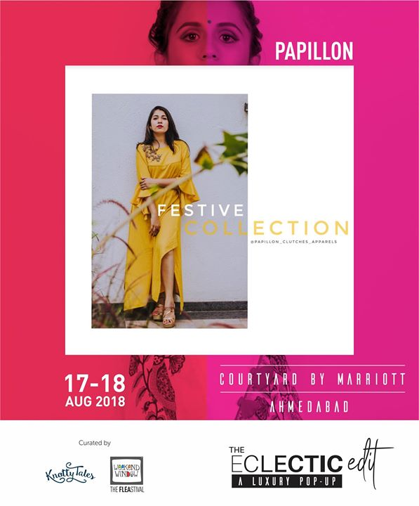 An electric mix of stylish n classic Sling Bags & Clutches just a click away by Papillon clutches apparels!   65+ designers showcasing at The Eclectic Edit - Season 3 curated by Knotty Tales & Weekend Window.  #festivecollection #papillonapparels #ethnicwear #indianwear #indianfashion #indowestern #yellow #brightcolours #handembroidered #madeinindia #indowesternlook #trendyclothing #indianclothing #mehendilook #yellowandgolden #stylish #weekendwindow #knottytales #theeclecticedit #aluxurypopup