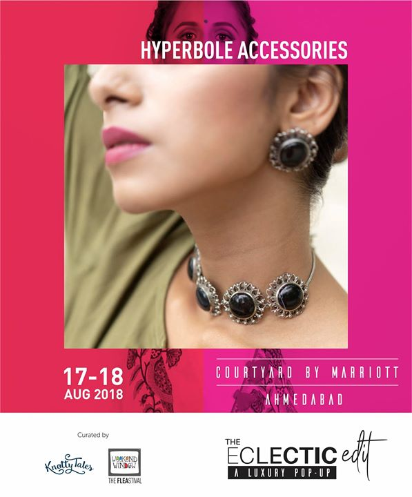 Hyperbole Accessories is back with their festive jewellery collection, this time its a beautiful melange of precious stones with pure silver metal. From cocktail jewellery to festive wear be it Diwali, Navratri or Weddings, they have it all!  Get exclusive designs which are adorned by celebrities like Jahnavi Kapoor, Ileana D'cruz, Parineeti Chopra, Anushka Sharma and many more! Exclusively at The Eclectic Edit - Season 3 curated Knotty Tales & Weekend Window  #hyperboleaccessories #statementjewelry #handmadejewelry #handcrafted #semipreciousstones #madeinindia #silver #silverjewelry #studearrings #floral #love #tassel #tasselearrings #weekendwindow #knottytales #theeclecticedit