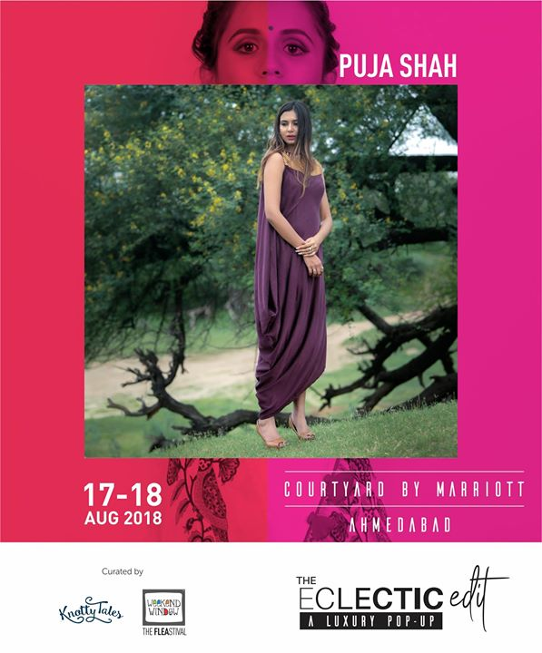 Puja Shah's clothing are crafted artistically for women who appreciate fine clothing, comfort and quality. It is a combination of simplicity and elegance.  Visit their stall exclusively at The Eclectic Edit - Season 3  curated Knotty Tales & Weekend Window  #ClassySilhouette #ExquisiteEmbroidery #Opulent #Designerwear #IndianFashionDesigners #Contemporary #LabelPujaShah #PujaShah #knottytales #weekendwindow #theeclecitcedit