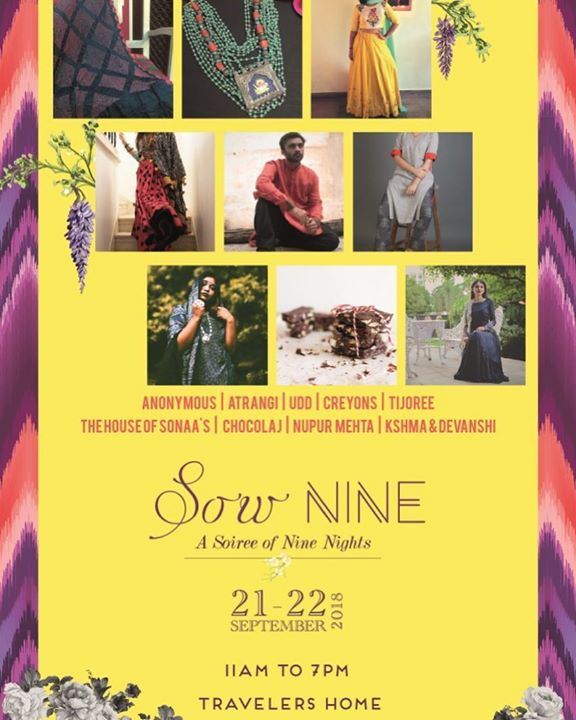 Setting up!! 😍  Festive drama happening for tomorrow morning.. Can't wait to see you with your shopping bags full while you come and say a hello!  #sowNINE #navratri2018 #popup #curated #ninenights #happyshopping