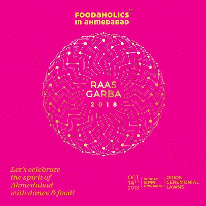 Dear Fellow Amdavadi,  We're sure you're as excited about garba, regardless of whether you're a Gujarati or not. The fever catches on, doesn't it?  For us, that excitement always revolves around Food & Garba - two things we love. And so we take pleasure in inviting you to the Foodaholics in Ahmedabad's (FiA) Raas Garba.  The idea behind FiA Raas Garba is to celebrate the very spirit that binds this city together.  And so, we urge you, to come join us and celebrate your being Amdavadi.  Kindly get your passes on www.foodaholicsinahmedabad.com OR Buy them from Nini's Kitchen; Panjrapole and Prahladnagar.