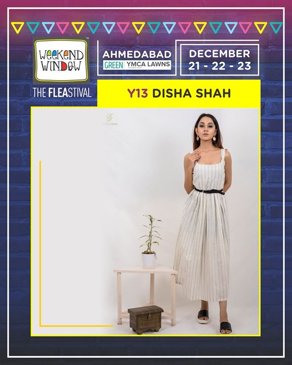 Get ready to revamp your wardrobe with new designer collection of Disha shah only at the Gujarat's happiest FLEAstival - Weekend Window.  See you fashion lovers!  Date: 21-22-23 December, 2018 Time: 4 pm to 11 pm Venue: YMCA Club Lawn, SG Highway  #weekendwindow #theFLEAstival #fleamarket #shopping #food #fun #december2018 #14thedition #happiness #designerwear #insafashion