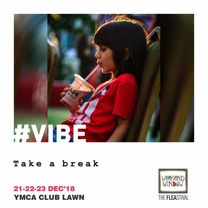 Weekend to break free from the routine Weekend Window <3  Weekend Window, 14th edition Friday-Saturday-Sunday Date: 21-22-23 December, 2018 Venue: YMCA Club Lawn, Ahmedabad Timing: 4 pm to 11 pm #weekendwindow #fleamarket #shopping #fashion #jewelery #fashionaccesories #musthaves #designerwear #fleastival #countdownbegins