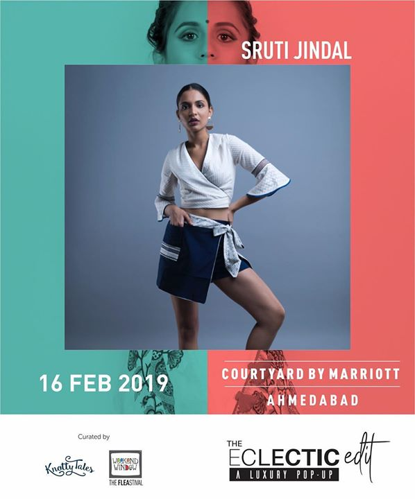 Our first label @sruti.jindal.official is all about celebrating Indian arts & craft in a new bohemian way! Ethical Luxe women wear fashion inspired by India, influenced by Australia. Bringing for us her special collection