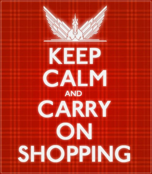Shout out to all Shopaholics! You would <3 it..