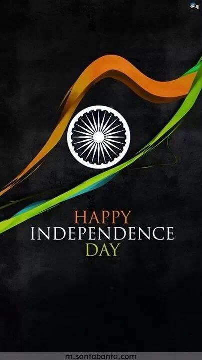 Let us welcome the change and let us be the change! Let us all try to eradicate the darkness.. Happy Independence Day! Vande Matram!