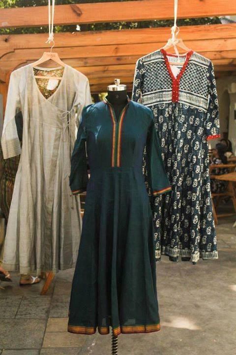 What more do you want when you get beautifully handcrafted garments from handlooms, khadi and blockprints this summer?? NOYA brings to you such easy to carry yet elegant and smart clothing for your summer wear. Check out their stall no. 14 at Weekend Window at T3 cafe, behind Karnavati Club from 23 - 25 May.