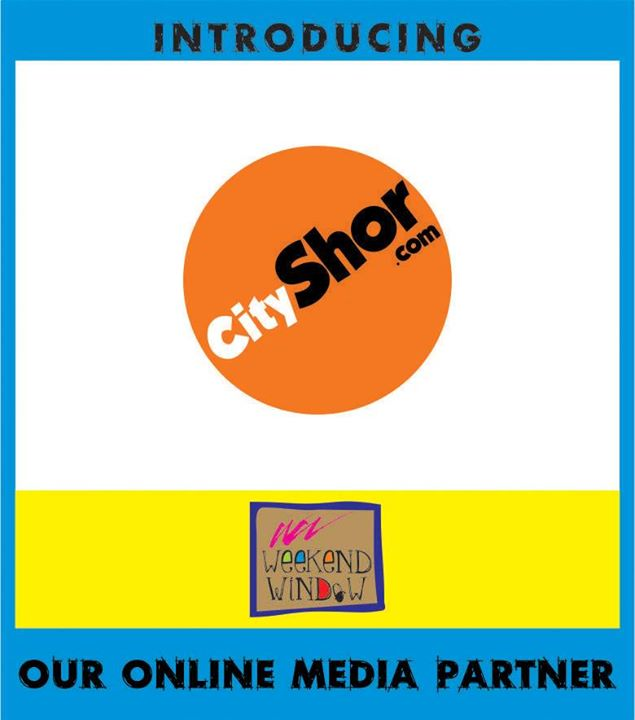 Over 135000 fans on FB page, 12 lac plus page views a month on website, 35000 email subscribers ... They are one of the best things that could have happened to Ahmedabad!! We're talking about the most loved and famous Online Portal of Ahmedabad - Cityshor Ahmedabad!!  And this time they're our Online Media Partner. Who else could have been better!! Meet them, open new business avenues, make business tie ups, just expand and grow your business.. Meet them at stall no. 19 at Weekend Window from 23 - 25 May at T3 cafe from 4 - 11 pm.. see ya!!