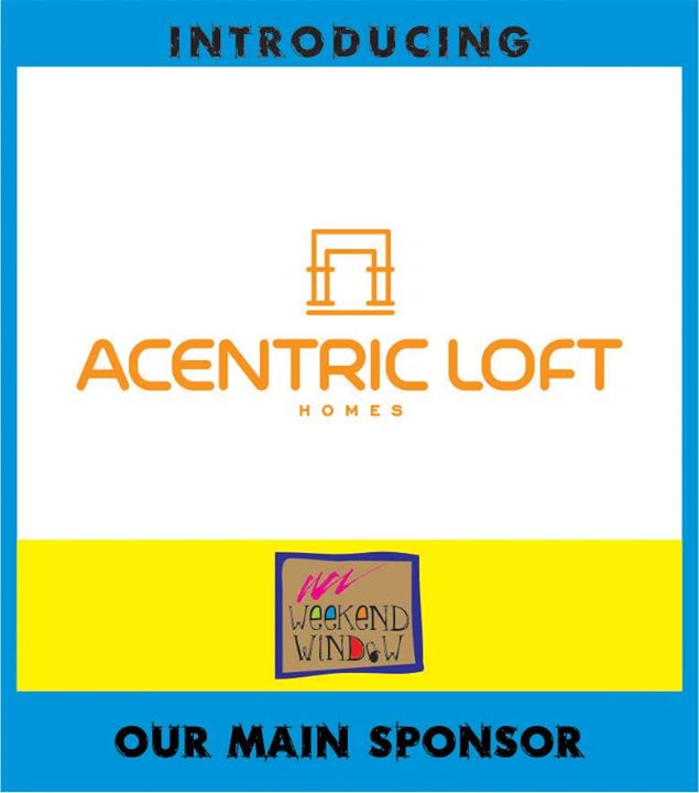 We are proud to have Acentric Loft as our title sponsor!! Acentric Loft offers a slew of home products including home accessories, exclusive Gold and Platinum plated tableware, upholstered furniture, lighting and paintings & sculptures of noted artists.  Adore their beautiful pieces at Weekend Window from 4-11 pm on 19,20,21 December besides T3 cafe, behind Karnavati Club, Ahmedabad.  Cheers! Stay Creative! Luv  Team WW