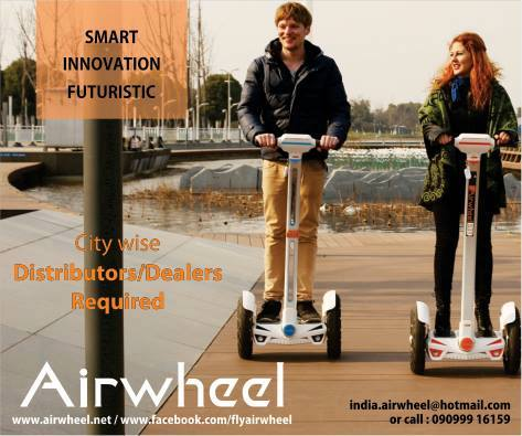 The airwheel is the greenest and lightest smart unicycle which can be easily carried into buses, trains, being able to facilitate daily commuters.  The airwheel delivers super light, portability, green and easy-to-use products to facilitate your daily lifestyle and brings you refreshing riding experiences. It coordinates your body movement with the brain in diapason, enlighten your routine workout, igniting your initiative and creativity and lifting you spirit for better self-development.  Check them out on 15-16-17 May at YMCA from 4pm to midnight only at Weekend Window  Cheers! Stay Creative! Team WW