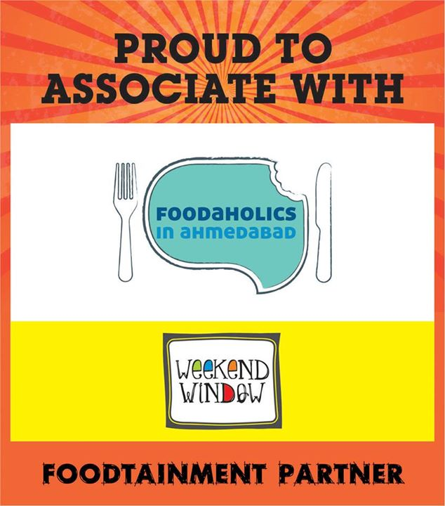 We are Proud and Happy to associate with foodaholics as our Foodaintment partner...  Come And Visit at Weekend Window on 15-16-17 may from 4Pm to midnight at ymca.  Cheers! Stay Creative. Team WW!