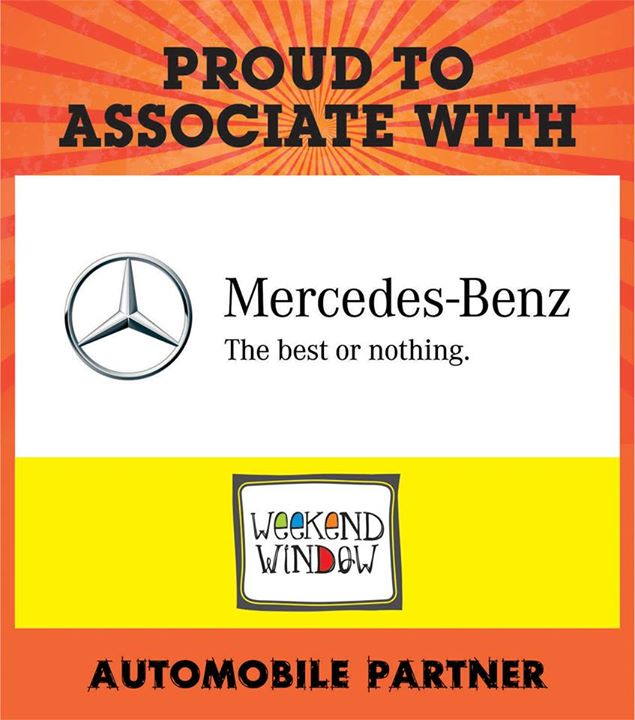 A Proud moment to associate with automobile partner Mercedes-Benz ..   Visit Weekend Window on 15-16-17 may from 4pm to midnight at ymca.  Cheers! Stay Creative Team WW