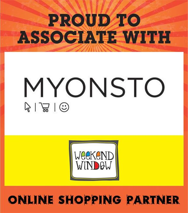 Happy To Have Online Food Partner..  Grab The Information at Weekend Window from 4pm to midnight on 15-16-17 may at ymca.  Cheers! Stay Creative. Team WW.